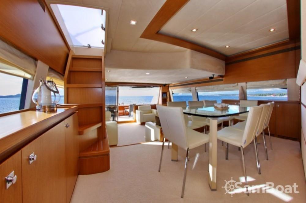 Bootsverleih Ferretti-Yachts-Group Ferretti 780 HT Zadar Samboat