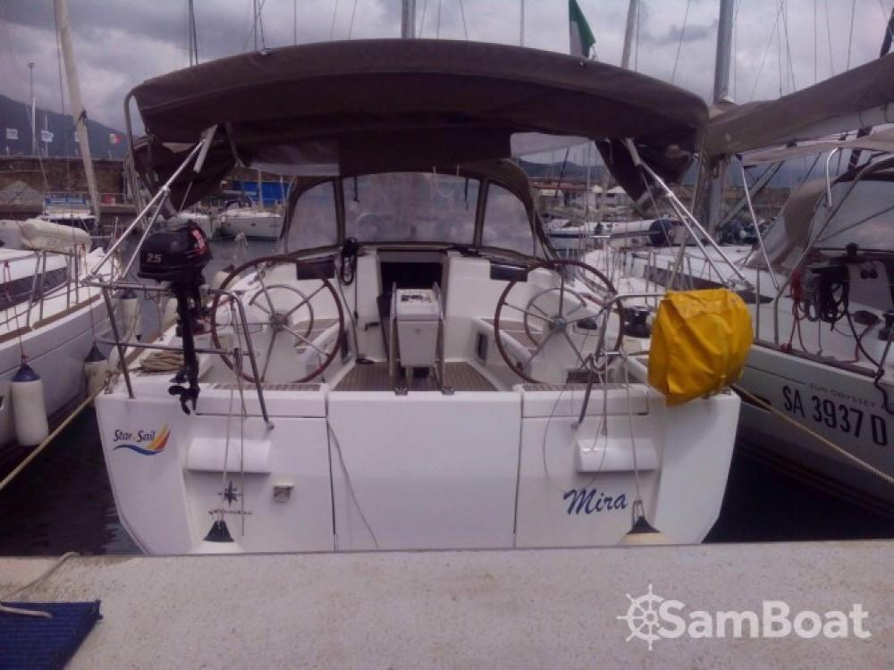 Bootsverleih Salerno günstig Sun Odyssey 439