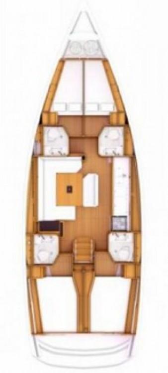 Jeanneau Sun Odyssey 469 zwischen Privatpersonen und professionellem Anbieter Salerno