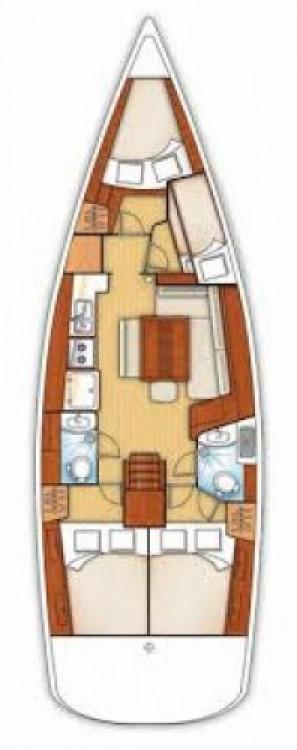 Ein Bénéteau Oceanis 43 mieten in Fethiye