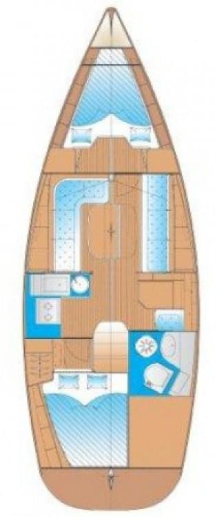 Bootsverleih Leucade günstig Cruiser 33