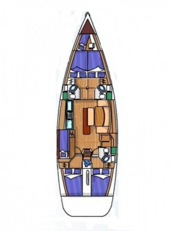 Yacht-Charter in Sukošan - Bénéteau Cyclades 50.5 auf SamBoat