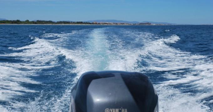 Louer Semi-rigide avec ou sans skipper Capelli à Saint-Cyprien