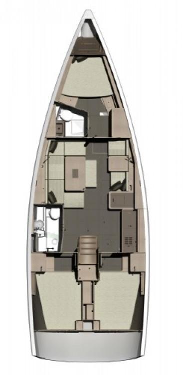 Bootsverleih Dufour Dufour 410 Grand Large Marina da Horta Samboat