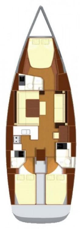 Segelboot mieten in Ponta Delgada (São Pedro) - Dufour Dufour 485 Grand Large