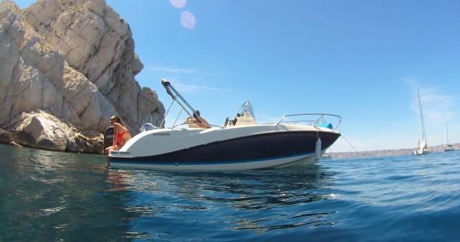 Location bateau Quicksilver Activ 605 Open à Marseille sur Samboat