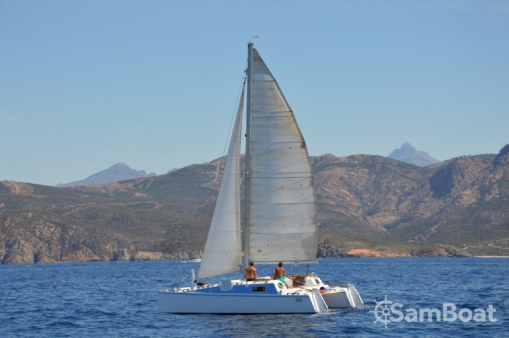 Rental Catamaran in Saint-Tropez - Cna DIABOLO