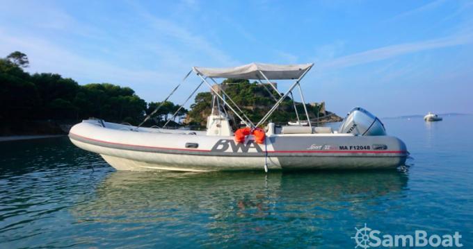 Location bateau Bwa Sport 22 GT à Saint-Raphaël sur Samboat