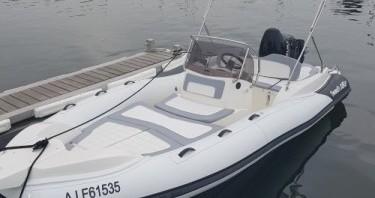 Location Semi-rigide à Porto-Vecchio - Marlin Boat Marlin Boat 182 Fb