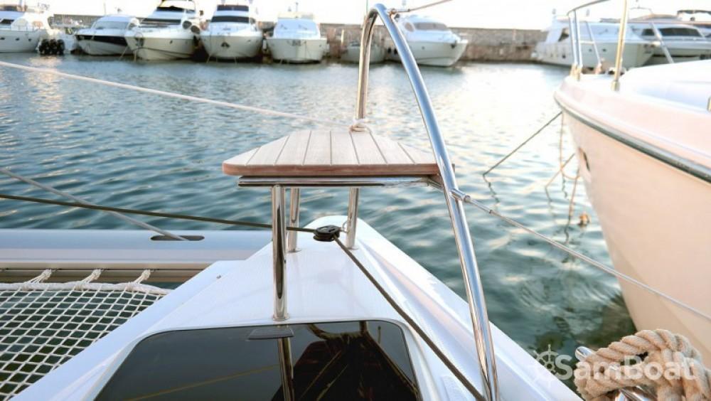 Location Catamaran à Páros - Fountaine Pajot Lucia 40