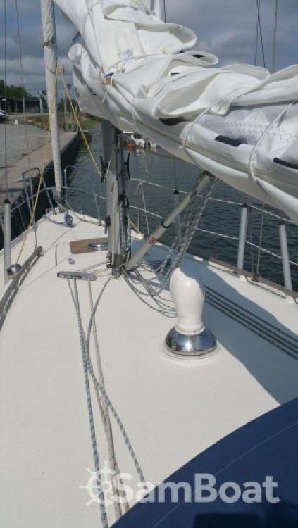 Vermietung Segelboot Comfort mit Führerschein