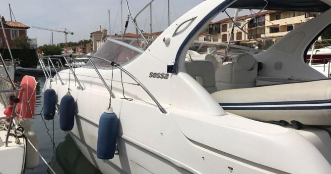 Sessa Marine C35 entre particuliers et professionnel à Golfe-Juan