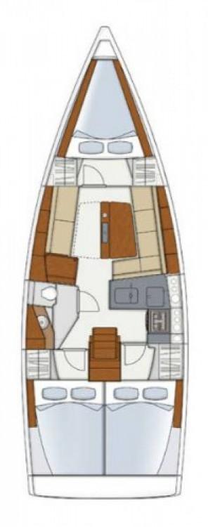Segelboot mieten in Kroatien - Hanse Hanse 345