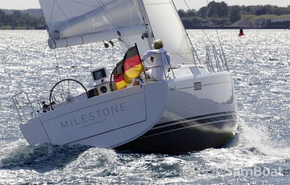 Segelboot mieten in Marina Kaštela - Hanse Hanse 385