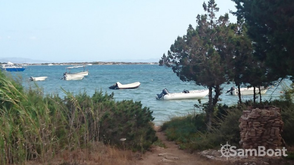 Alquiler Neumática en Formentera - Wally Wally 435