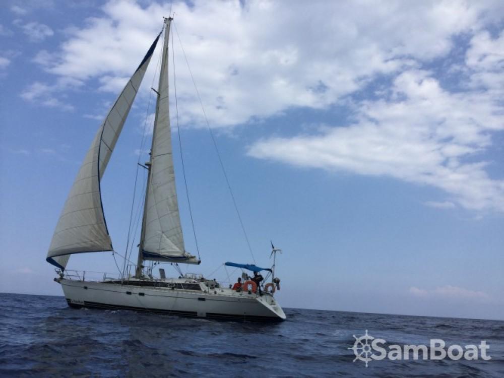 Vermietung Segelboot Kirie mit Führerschein