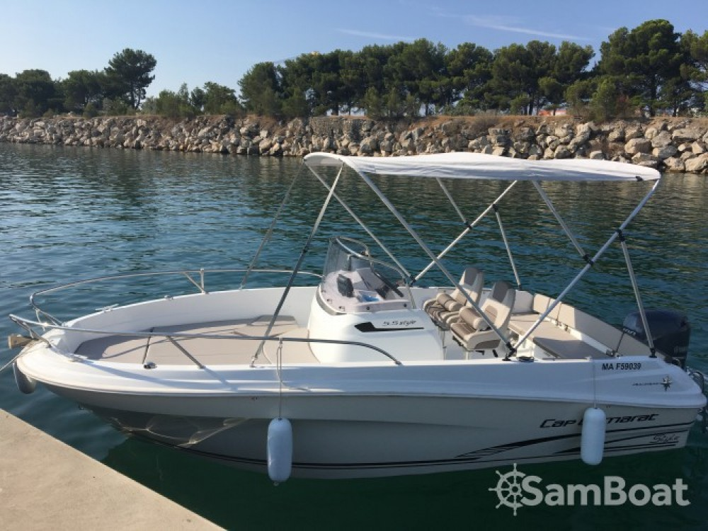 Location bateau Marseille pas cher Cap Camarat 5.5 Style