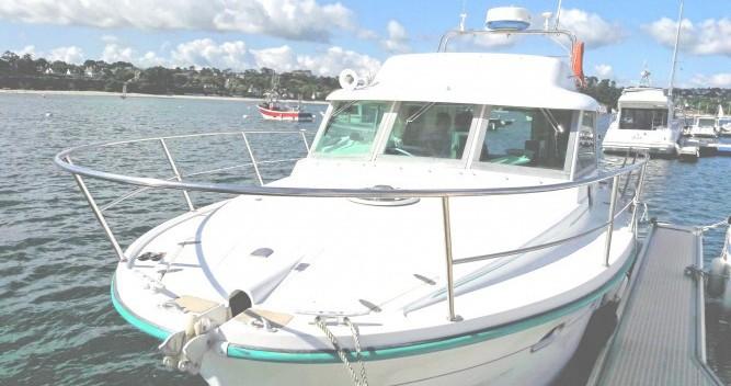 Location bateau Morgat pas cher Ocqueteau 900