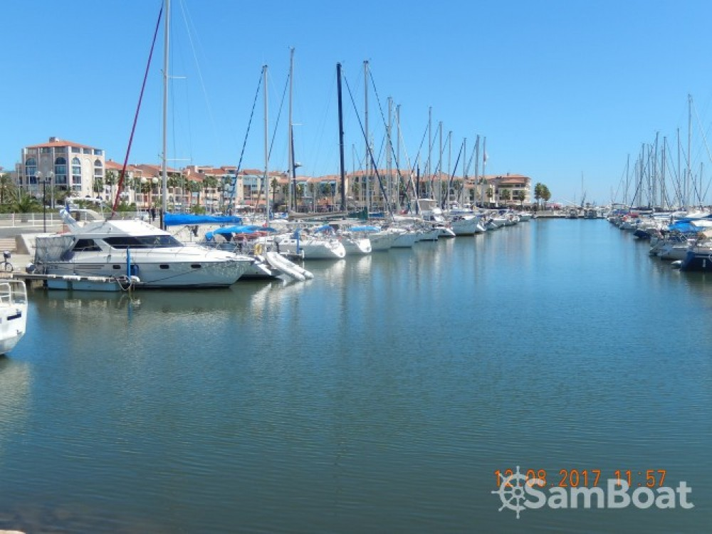 Marine-Project Princess  388 between personal and professional Argelès-sur-Mer