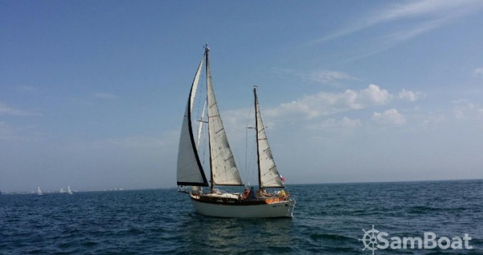 Rental Sailboat Chantier-Pfistersirven with a permit