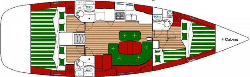 Yacht-Charter in Piombino - Bénéteau Oceanis 473 auf SamBoat