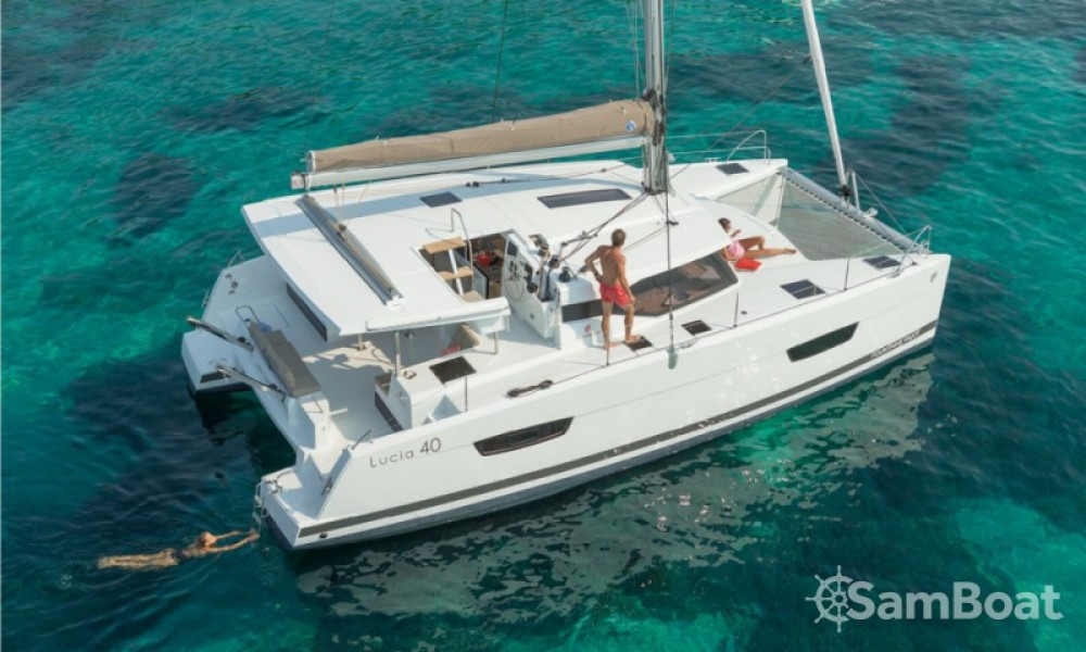 Catamaran for rent Cannes at the best price