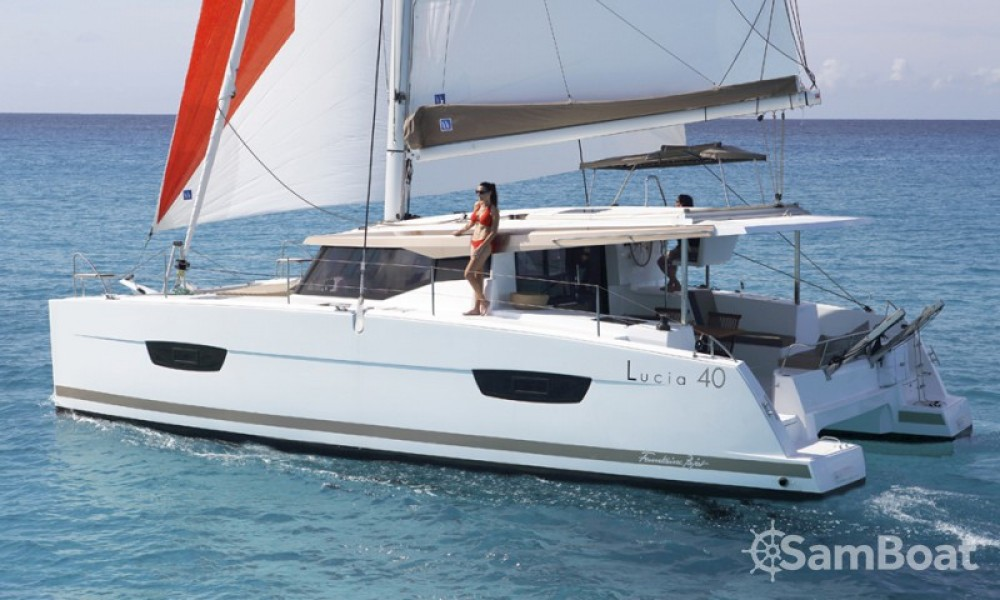 Rent a Fountaine Pajot Lucia 40 Cannes