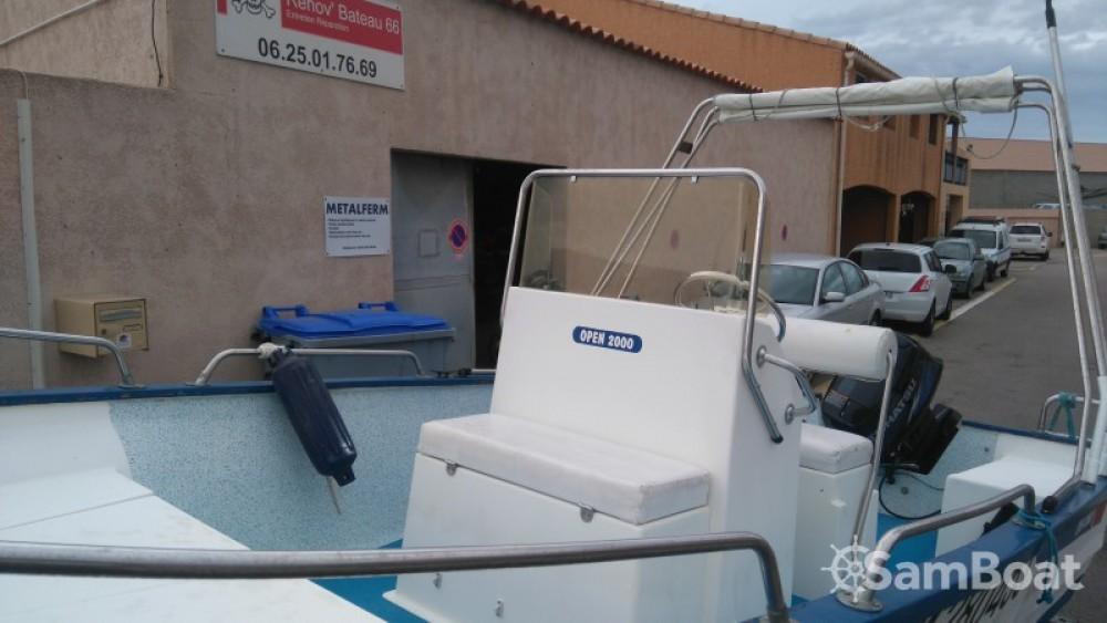 Motorboot mieten in Le Barcarès - Pro-2000 OPEN 2000