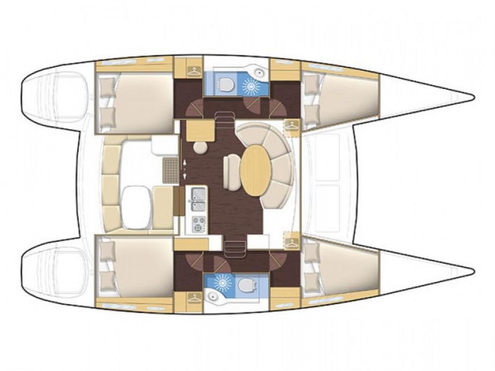 Bootsverleih Marina de Alimos günstig Lagoon 380