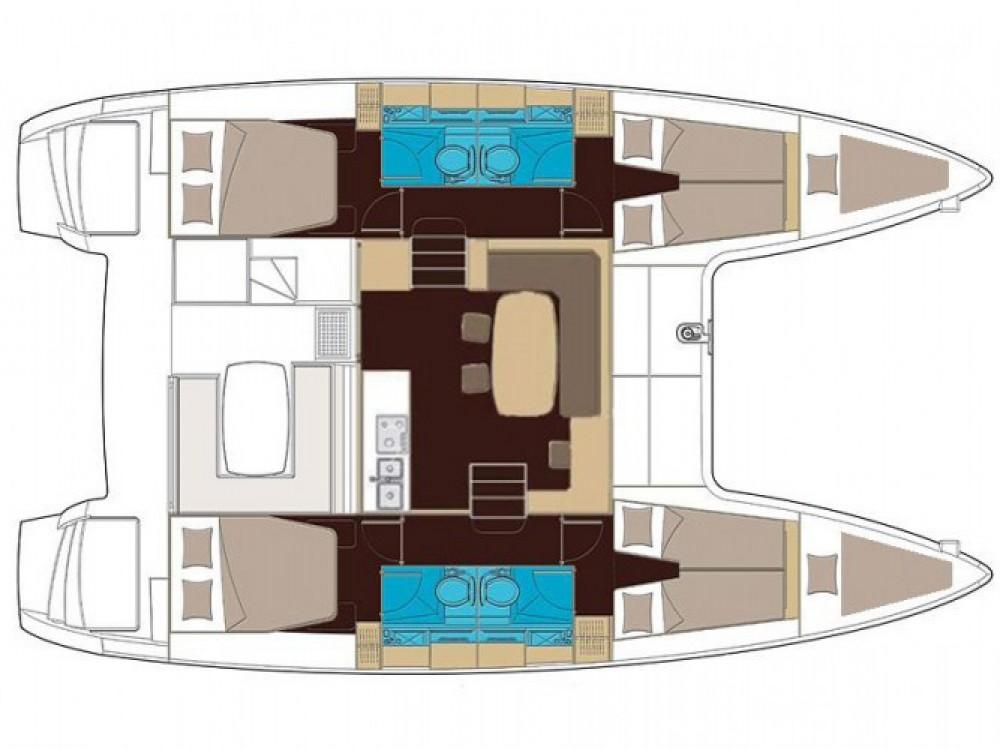 Lagoon Lagoon 400 S2 entre particuliers et professionnel à Μαρίνα Αλίμου