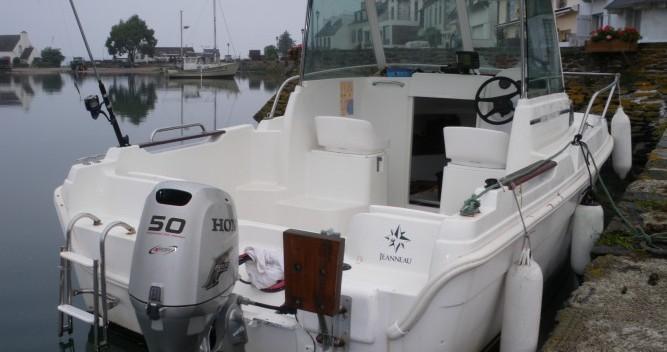 Location bateau Jeanneau merry fisher à Térénez sur Samboat