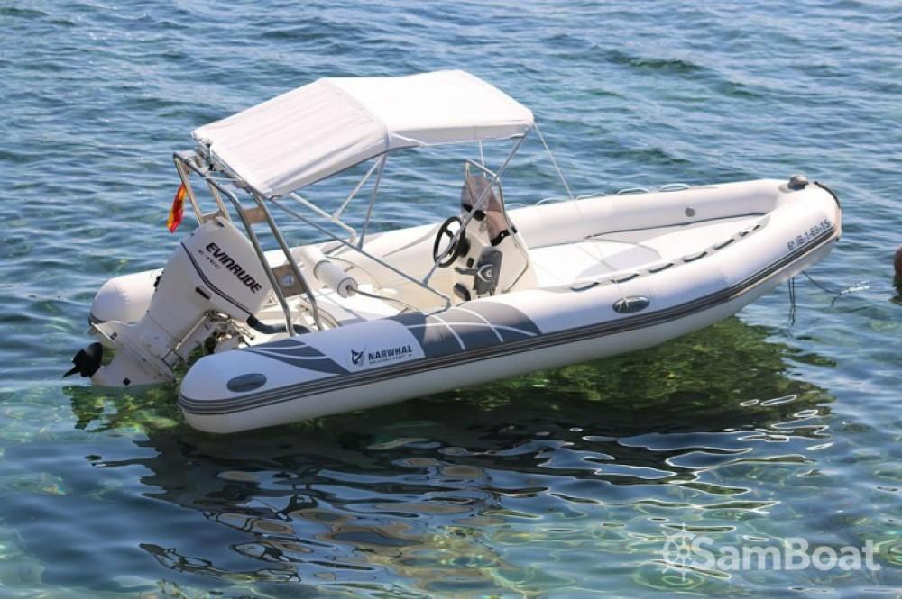 Bootsverleih Ibiza-Stadt günstig Narwhal H 520