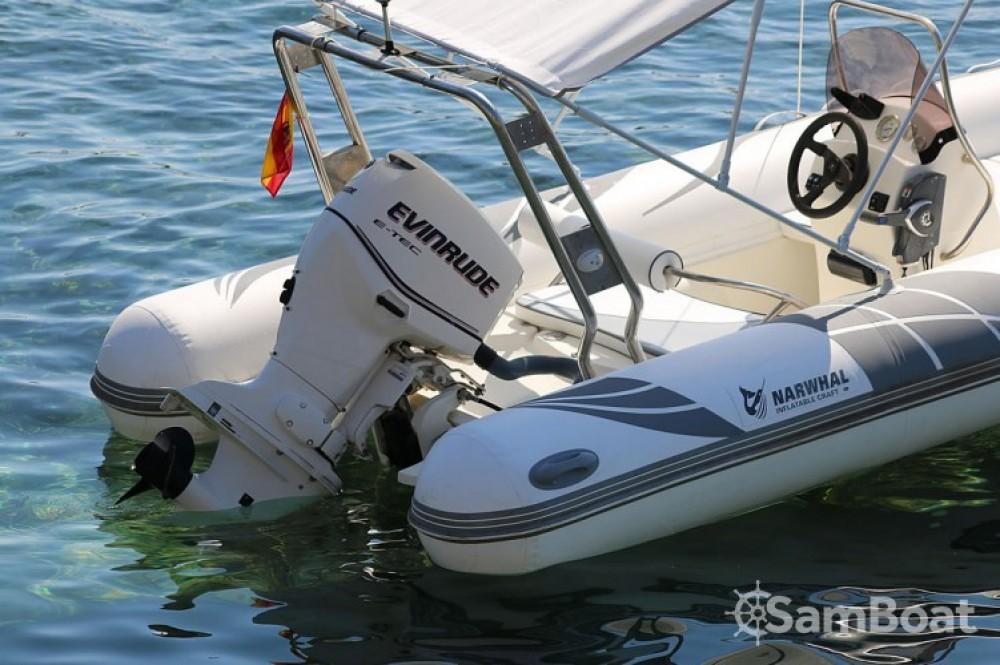 Vermietung Schlauchboot Narwhal mit Führerschein