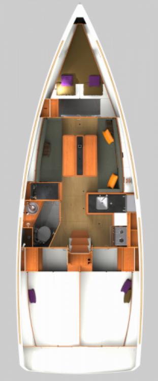 Location yacht à Rogač - Jeanneau Sun Odyssey 349 sur SamBoat