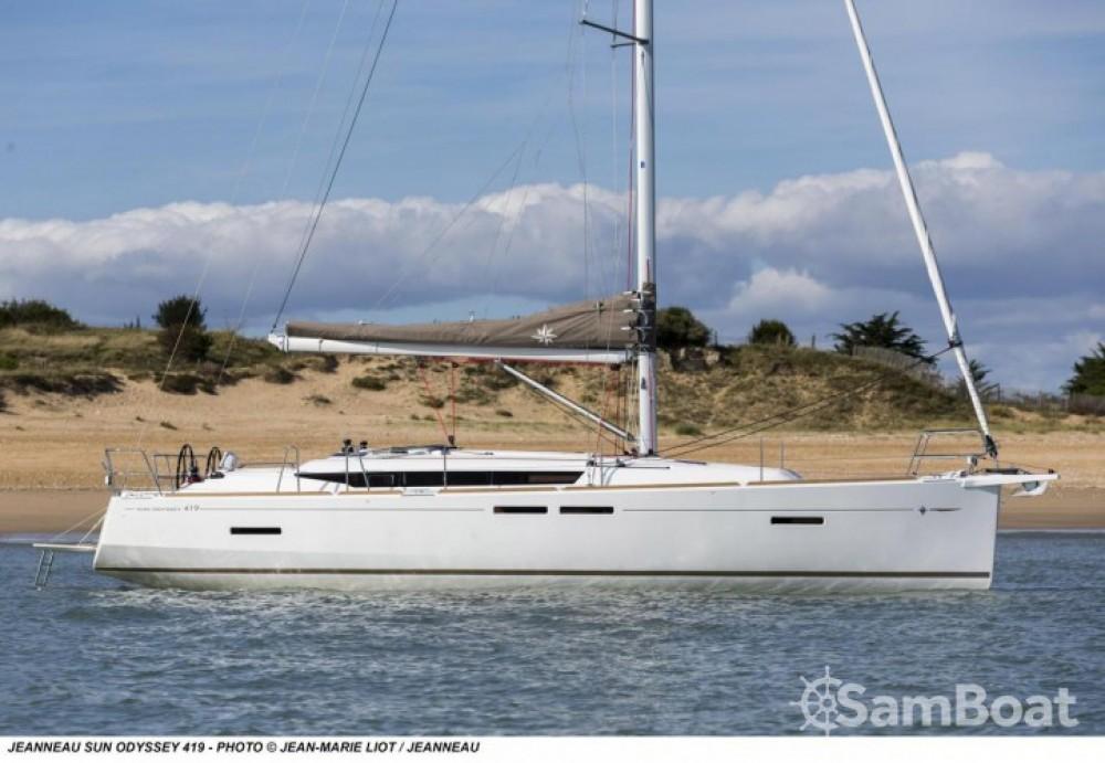 Yacht-Charter in Leucade - Jeanneau Sun Odyssey 419 auf SamBoat