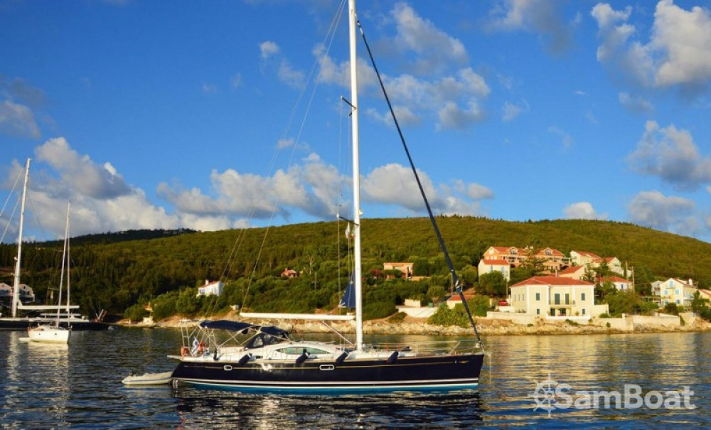 Jeanneau Sun Odyssey 49 DS between personal and professional Lefkada