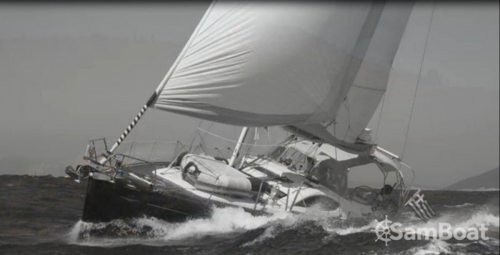 Boat rental Lefkada cheap Sun Odyssey 54 DS