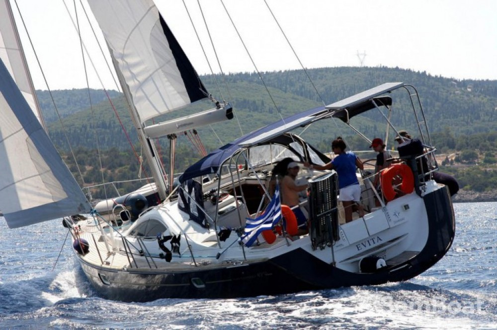 Boat rental Lefkada cheap Sun Odyssey 49 DS