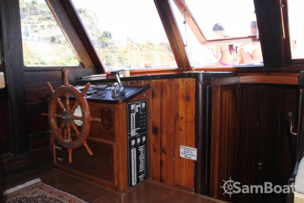 Alquiler de barcos Catania barato de caicco