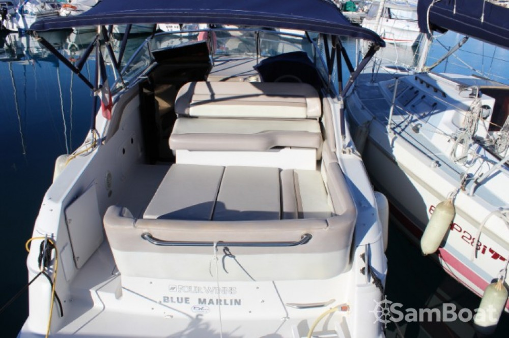 location bateau  u00e0 moteur four winns vista 258 blue marlin