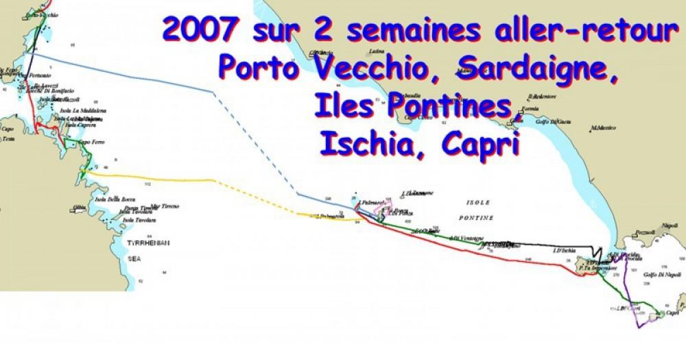 Rental Sailboat in Bastia - Jeanneau Sun Odyssey 40