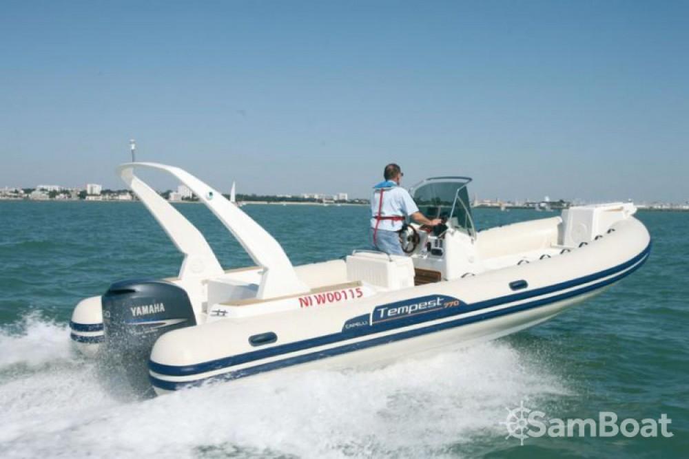 Boat rental Palma cheap Tempest 770