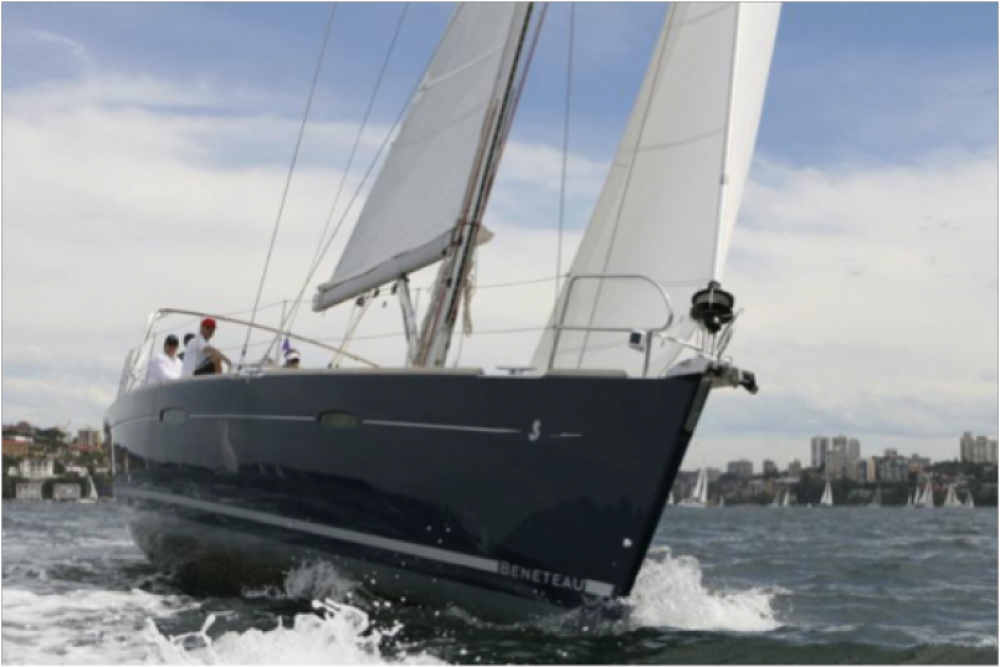 Bénéteau Oceanis 54 between personal and professional Valletta