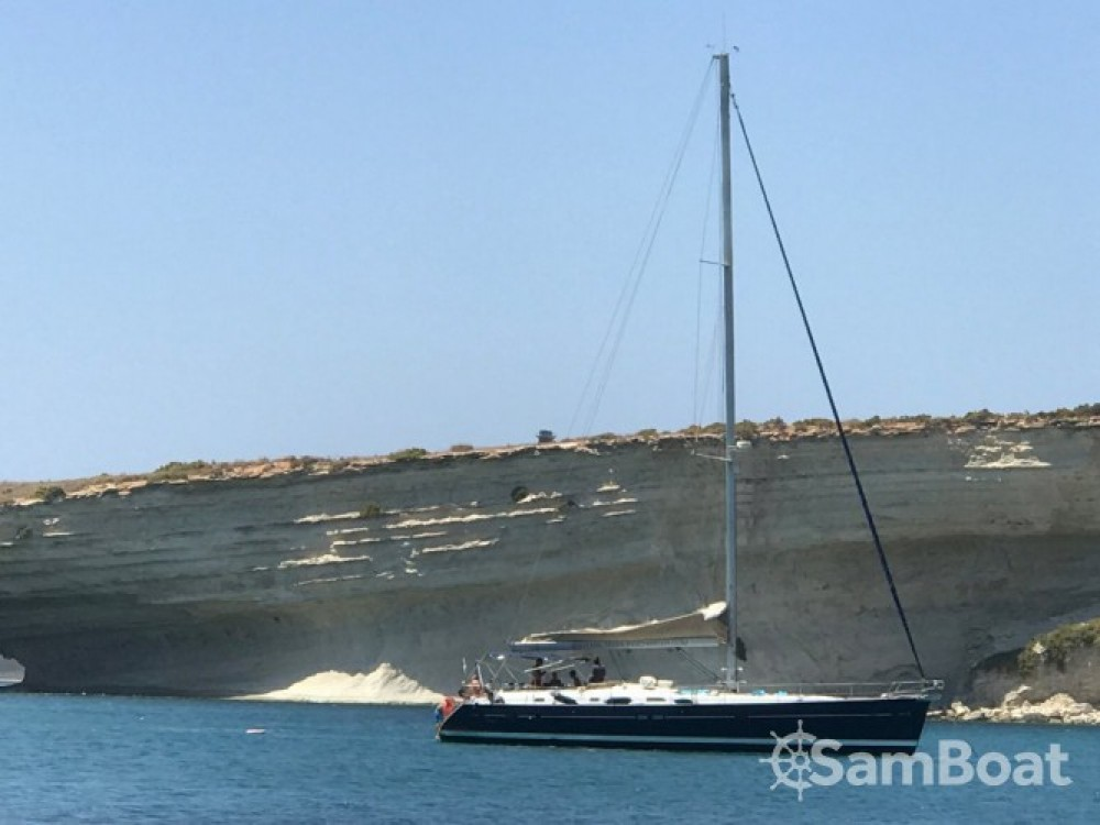 Noleggio yacht La Valletta - Bénéteau Oceanis 54 su SamBoat