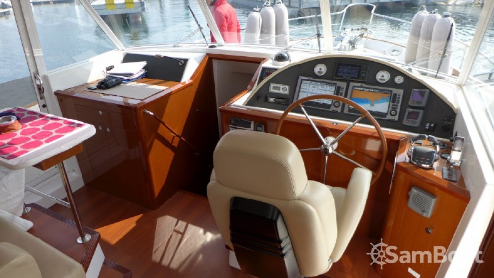 Bénéteau Swift Trawler 52 between personal and professional Licata