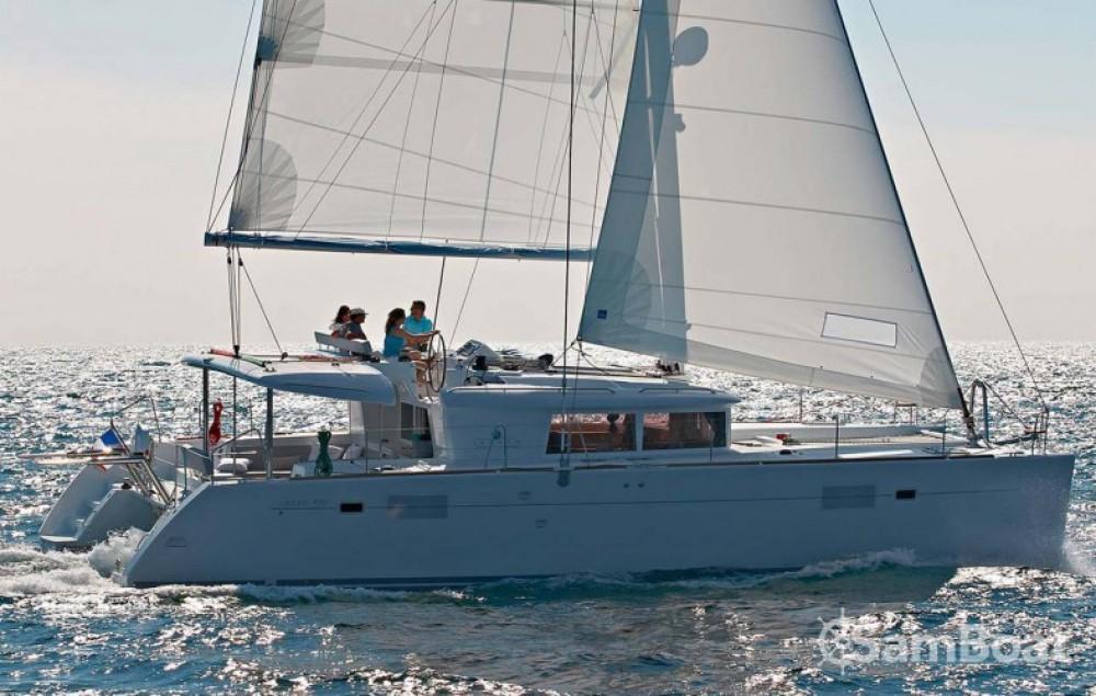Catamaran for rent Attica at the best price