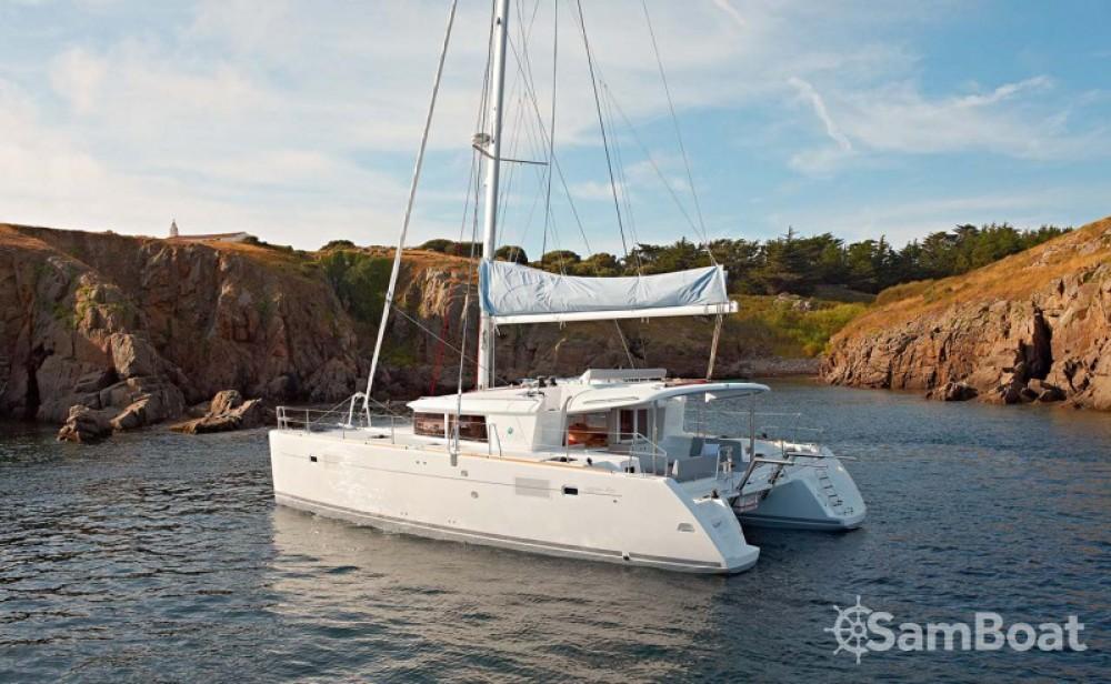Boat rental Attica cheap Lagoon 450
