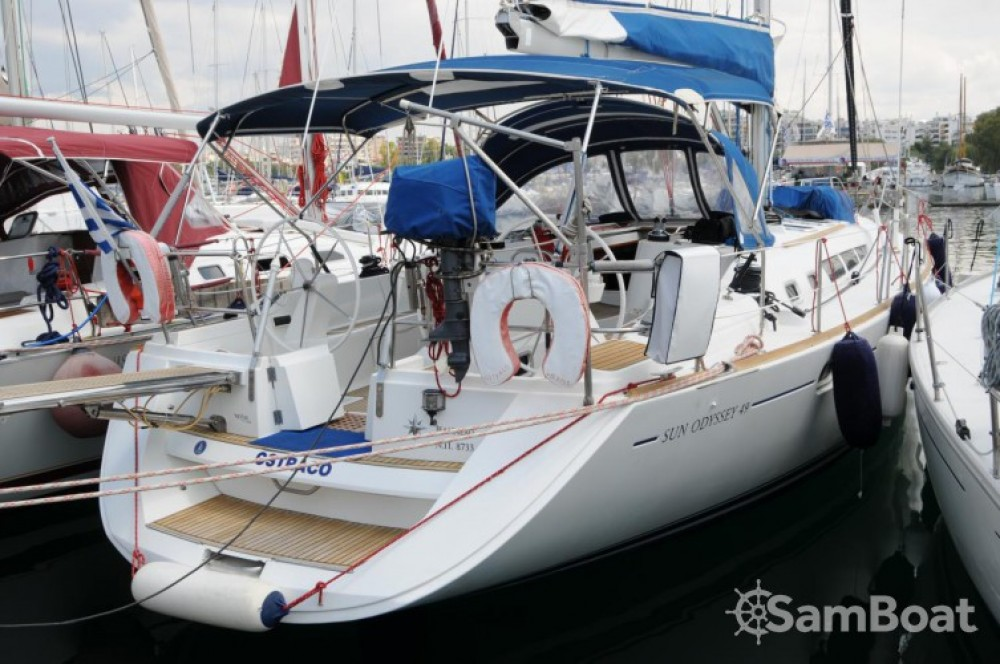 Rental yacht Attica - Jeanneau Sun Odyssey 49 on SamBoat