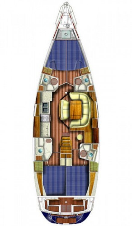 Jeanneau Sun Odyssey 49 between personal and professional Attica