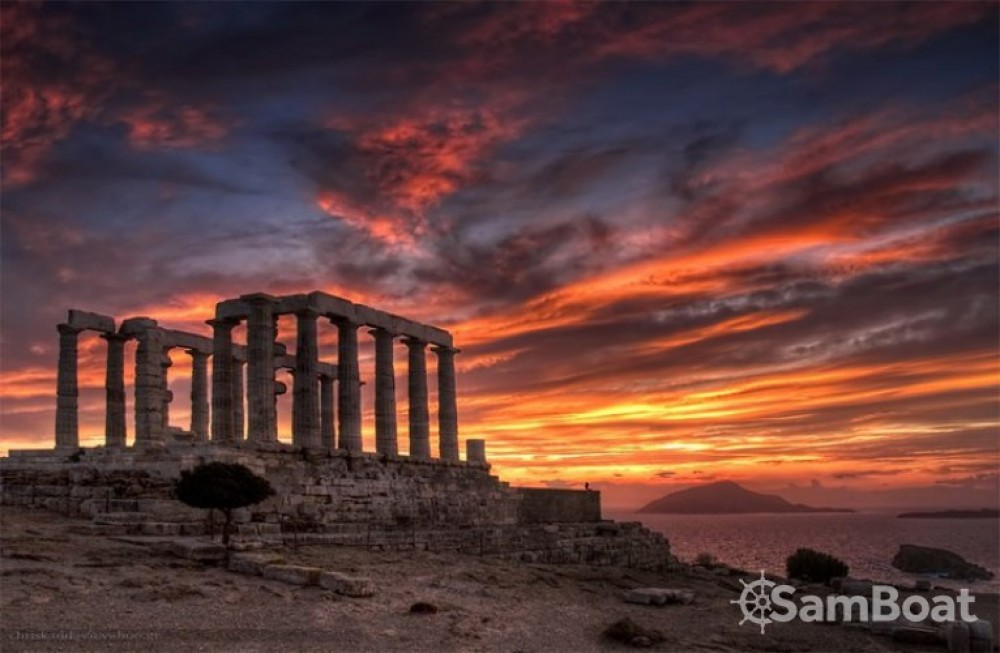Alquiler Lancha en Atenas - Cranchi Smeraldo 37